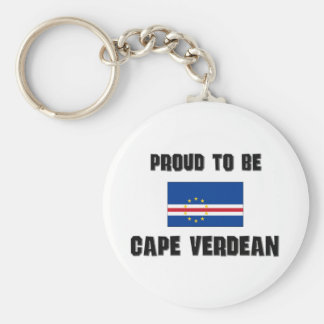 Proud To Be CAPE VERDEAN Keychain