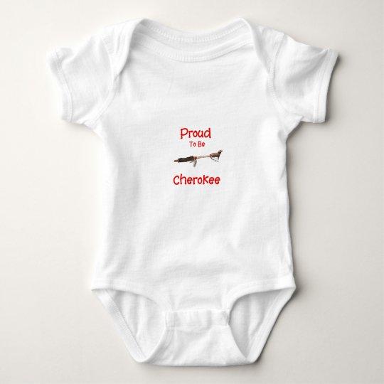 Proud To Be Cherokee Baby Bodysuit