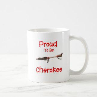 Proud To Be Cherokee Coffee Mugs
