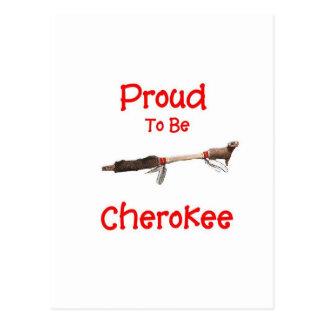 Proud To Be Cherokee Postcard