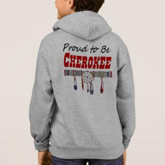 Proud to be Cherokee Youth Zip Hoodie
