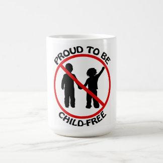 Proud to Be Child-Free Mug
