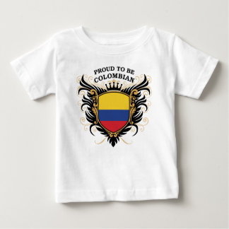 Proud to be Colombian Baby T-Shirt