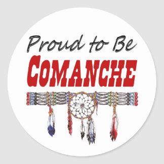 Proud to be Comanche Decals or Stickers