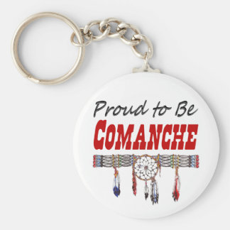 Proud to be Comanche Key Chain