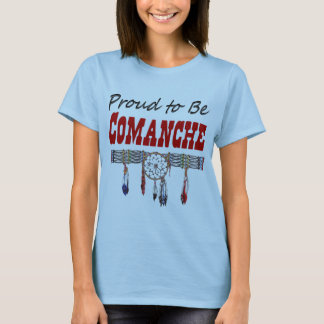 Proud to be Comanche Womens Fitted T-Shirt