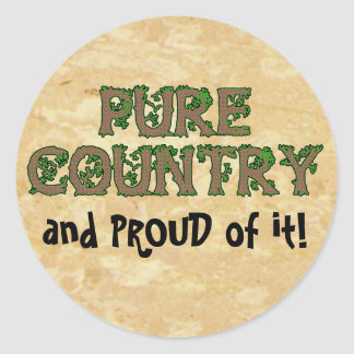 PROUD to be COUNTRY STICKERS