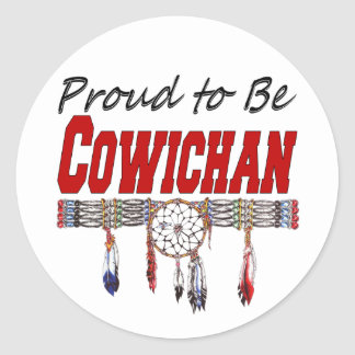Proud to be Cowichan Decals or Sticker Sheets
