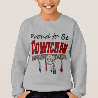 Proud to be Cowichan Kid's Sweatshirt