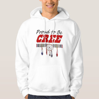 Proud To Be Cree Adult Hooded Sweatshirt