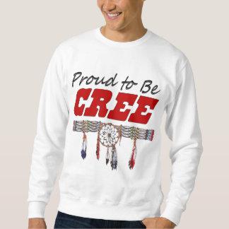 Proud To Be Cree Adult Sweatshirt