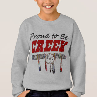 Proud To Be Creek Child's Sweatshirt