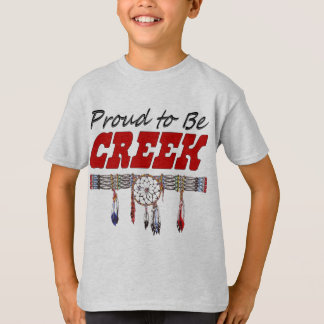 Proud To Be Creek Kid's T-Shirt