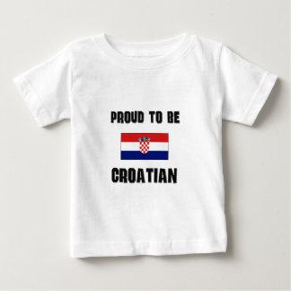 Proud To Be CROATIAN Baby T-Shirt