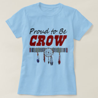 Proud to be Crow Ladies Fitted T-Shirt
