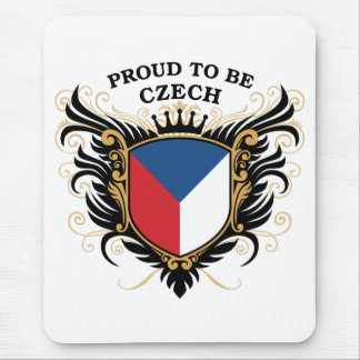 Proud to be Czech Mouse Pad