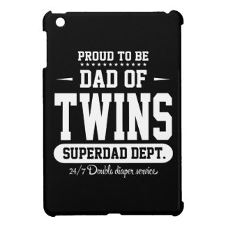 Proud To Be Dad Of Twins Superdad Dept. Case For The iPad Mini