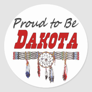 Proud To Be Dakota Decals or Stickers