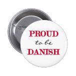 Proud To Be Danish Pin