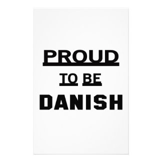 Proud to be Danish Stationery