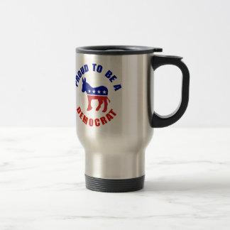 Proud To Be Democrat Original Travel Mug