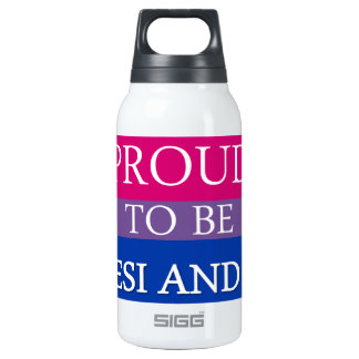 Proud To Be Desi and Bi Insulated Water Bottle