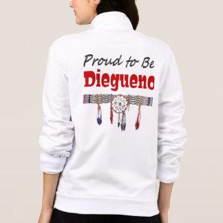 Proud to be Diegueno California Fleece Zip Jogger Jacket