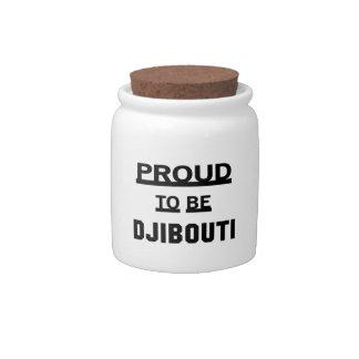 Proud to be Djibouti Candy Dish