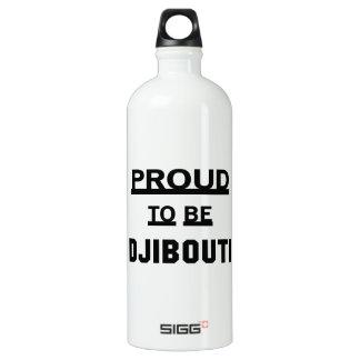Proud to be Djibouti Water Bottle