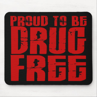 Proud To Be Drug Free 2 Mouse Pad