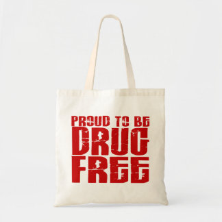 Proud To Be Drug Free 2 Tote Bag