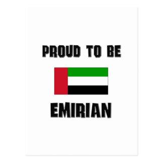 Proud To Be EMIRIAN Postcard