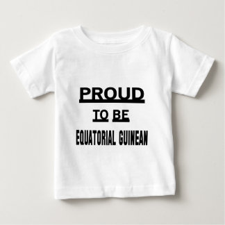 Proud to be Equatorial Guinean Tee Shirt