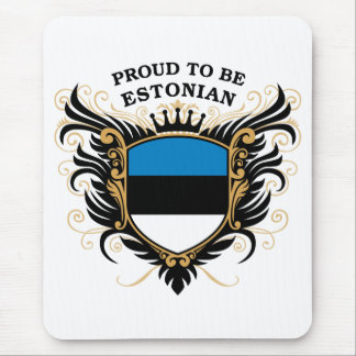 Proud to be Estonian Mouse Pad