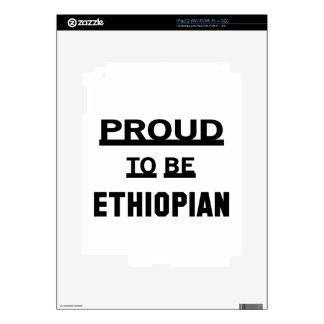 Proud to be Ethiopian iPad 2 Decal