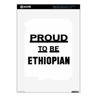 Proud to be Ethiopian iPad 3 Skin