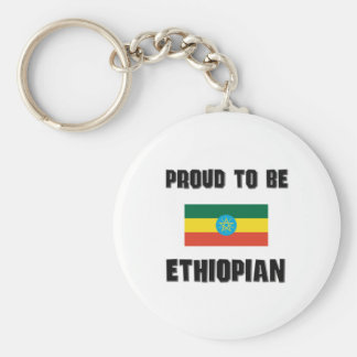 Proud To Be ETHIOPIAN Keychain