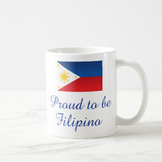 Proud to be Filipino 1 Coffee Mug