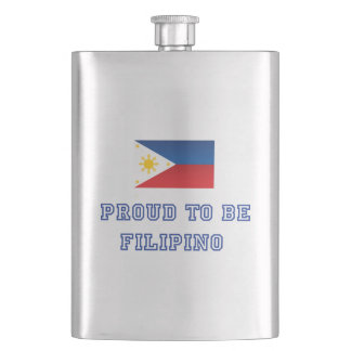 Proud to be Filipino 2 Flask