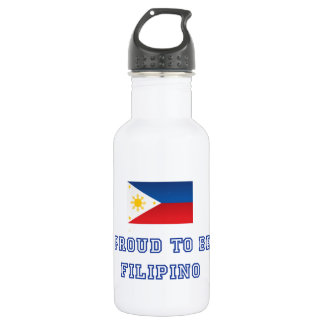 Proud to be Filipino 2 Stainless Steel Water Bottle