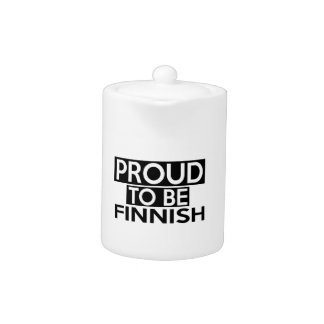 PROUD TO BE FINNISH