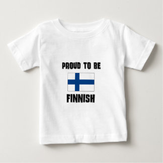 Proud To Be FINNISH Baby T-Shirt