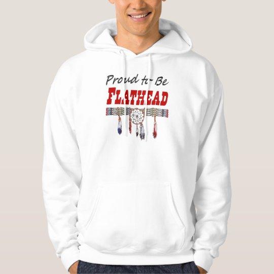 Proud To Be Flathead Adult Hooded Sweatshirt