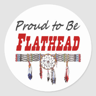 Proud To Be Flathead Decal or Stickers