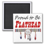 Proud To Be Flathead Magnet