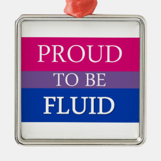 Proud to Be Fluid Metal Ornament