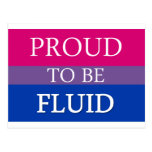 Proud to be Fluid Post Card