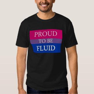 Proud to Be Fluid Tee Shirt