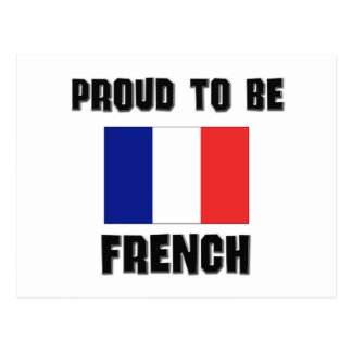 Proud To Be FRENCH Post Card