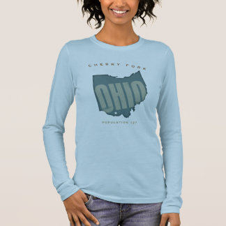 Proud To Be FRom Cherry Fork OH Long Sleeve T-Shirt